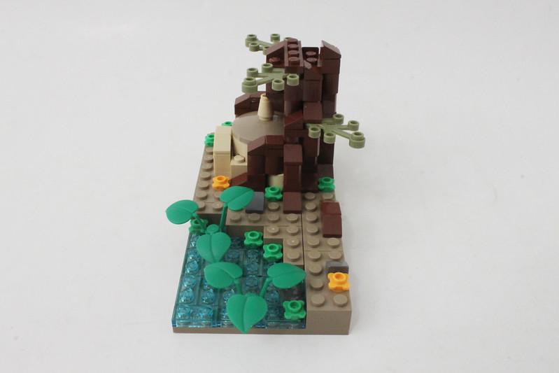 Review - LEGO Star Wars SDCC 2015 Dagobah Mini-Build από Brick Fan 19334843144_ed3eaa176e_c