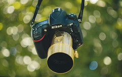 My D810 with Petzval