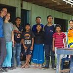 Sa, 27.06.15 - 08:49 - Shuar Familie im Centro Naki Shuar, km45 von Puyo nach Macas