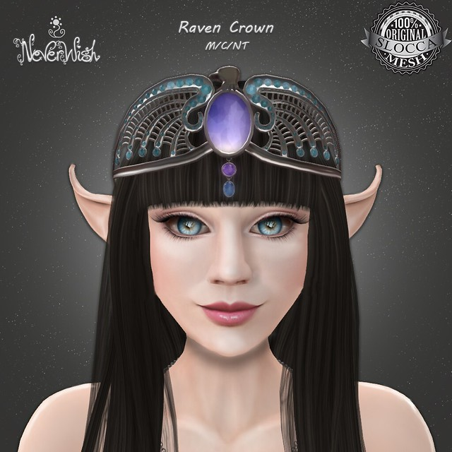 NeverWish Raven Crown