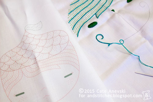Spoonflower & Embroidery
