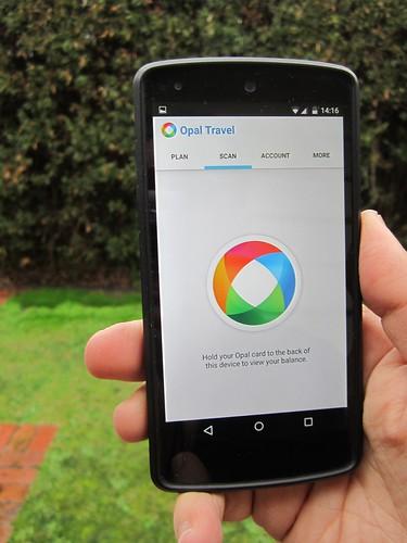 Opal NFC phone app