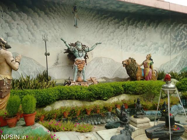 Lord Shiva calling Devi Ganga on request of Bhagirath Ji