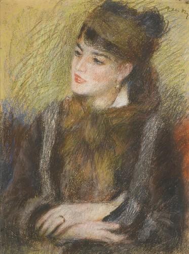 PIERRE-AUGUSTE RENOIR 1841-1919 ÉTUDE DE FEMME