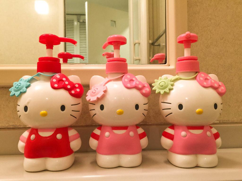 連沐浴乳都 Hello Kitty 的
