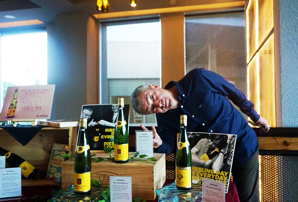 Tasting Hugel Wines with Winemaker Etienne Hugel at Planet Grapes – River Park, Alabang, Muntinlupa City