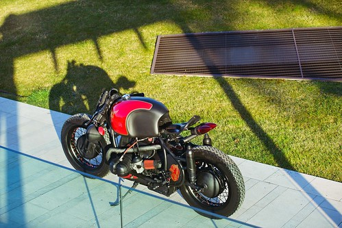 BMW R65 от Plasma Custom Cycles