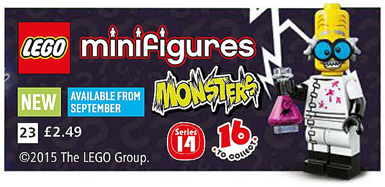 LEGO Minifigures Series 14 (71010) - Monsters