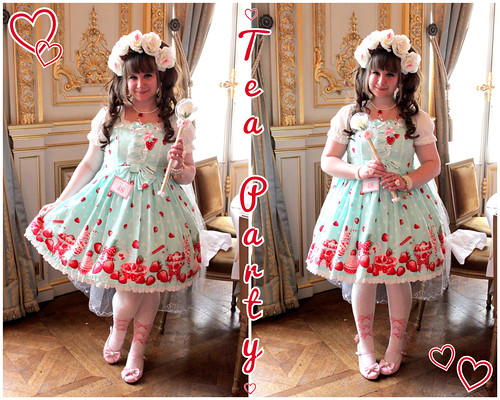 Milky Berry Tea Party Outfit