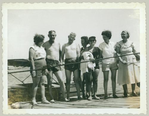 The gang at the lake