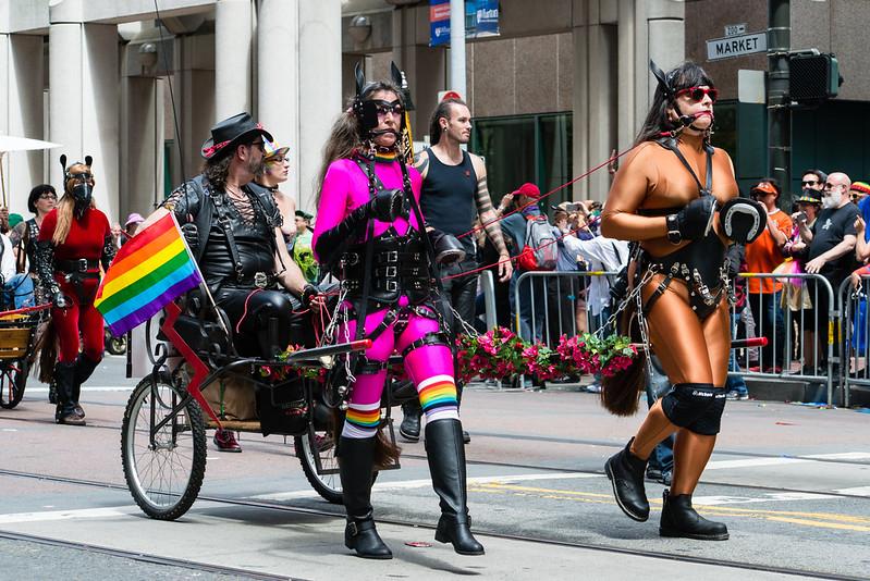 San Francisco Pride / SF Leather Pride Contingent