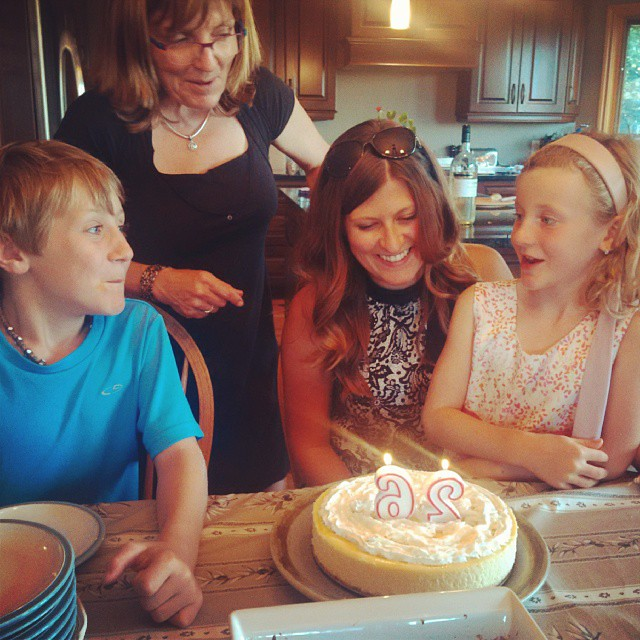 Celebrating Auntie Erin's Birthday :D Love you lots!!! XOXO #HappyBirthday