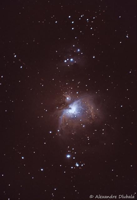 Orion Nebula , 26 Dec. 2016
