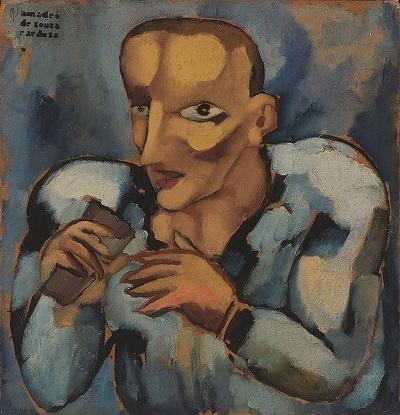 35.- O rata, 1914-1915,.Óleo sobre cartão, Coleção Museu municipal amadeo Souza-Cardoso