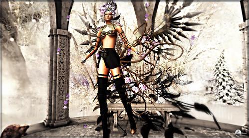 The Fantasy Angels Casting Phase 2 Bikini noir - Roxaane Fyanucci