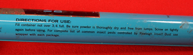 RD9051 Vintage Pump Sprayer Insect Duster Rawleigh Products Co.- Freeport, Ill. DSC08041