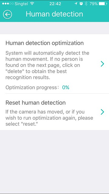 Beseye Pro - iOS App - Human Detection Optimization