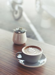 r.e. ~ posted a photo:	Coffee love!