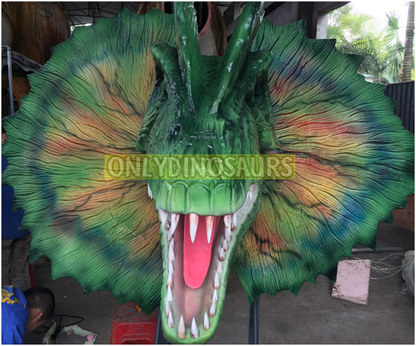 Dilophosaurus Head Model