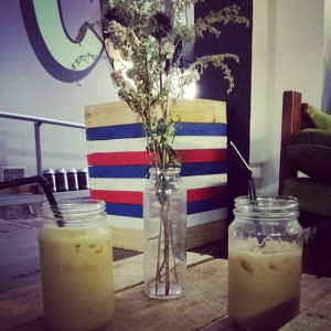 Coffee time!  An iced coffee is a great afternoon treat in Perth!