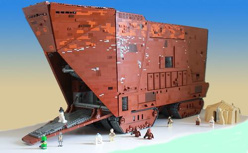 UCS Sandcrawler - projet bientôt terminé