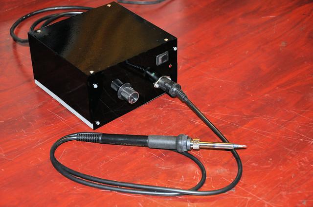 Finished version of soldering station.