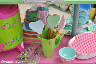 Heart Spatulas from Pinks & Green