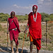 Masaai boys by Peter Gostelow
