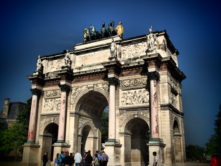 Image of Arc de Triomphe du Carrousel.