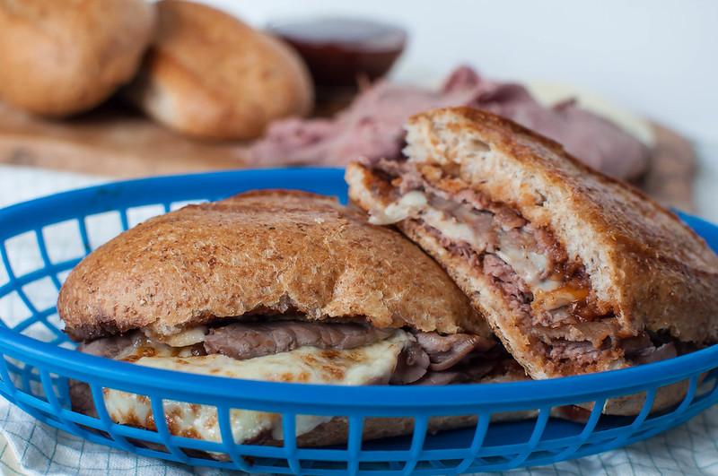 Hot BBQ Beef Sandwiches 9
