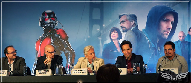 The Establishing Shot: PAUL RUDD TALKS CREATING SCOTT LANG AKA ANT-MAN'S CHARACTER @ THE ANT-MAN EUROPEAN PRESS CONFERENCE - CORINTHIA HOTEL LONDON