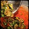 #Homemade #PastaAllaMariona #Zucchini #CucinaDelloZio - then the grilled zucchini