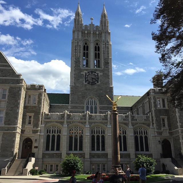 2015 East Coast College Trip Day 7 - Boston College