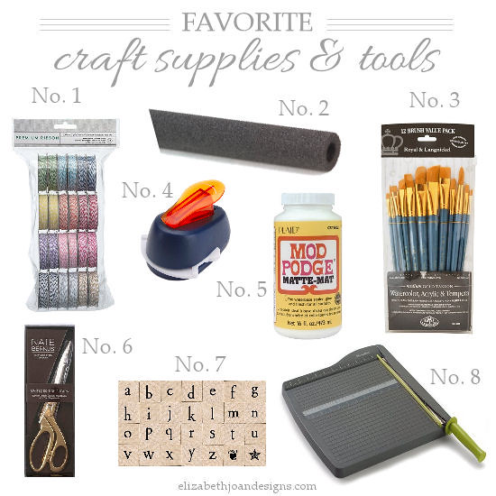 Favorite Craft Tools & Supplies