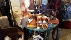 Fox items at the Cracker Barrel.
