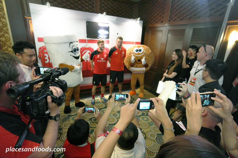 liverpool asia tour 2015 adam lallana and rickie lambert