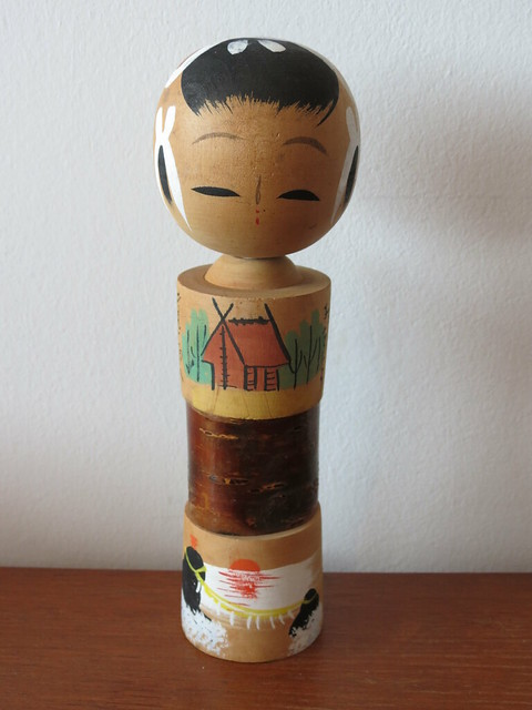Kokeshi from Ise