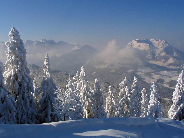 Winterlandschaft - Wilder Kaiser, Canon POWERSHOT A70