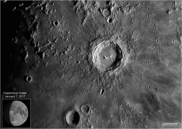 Copernicus Crater – January 7, 2017