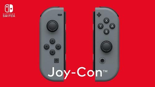 Joy-Con 押し込み対応のアナログスティック