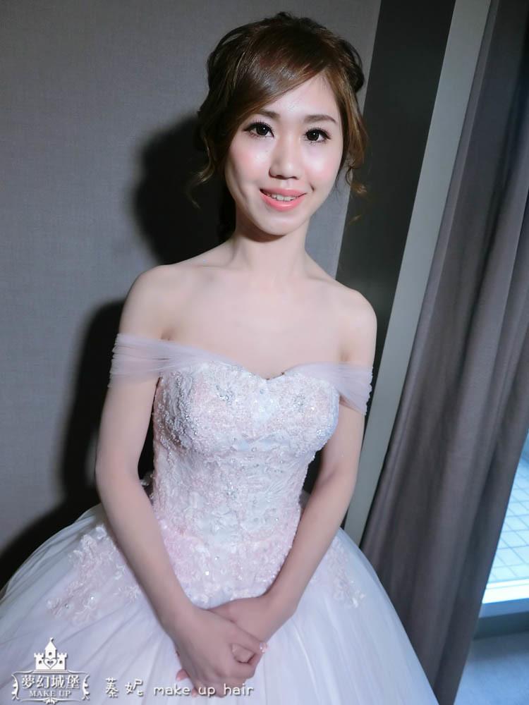 【新秘蓁妮】bride姵嬅 訂結婚造型 / 新竹老爺大酒店