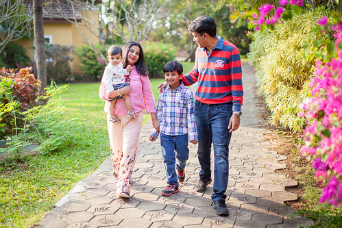 The Jaiswal's Family Shoot at Candolim, Goa