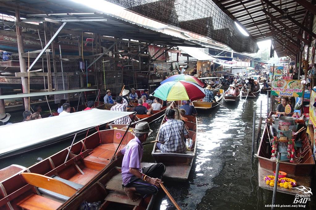 泰國曼谷-水上市場+美功鐵道市集+河濱夜市-07