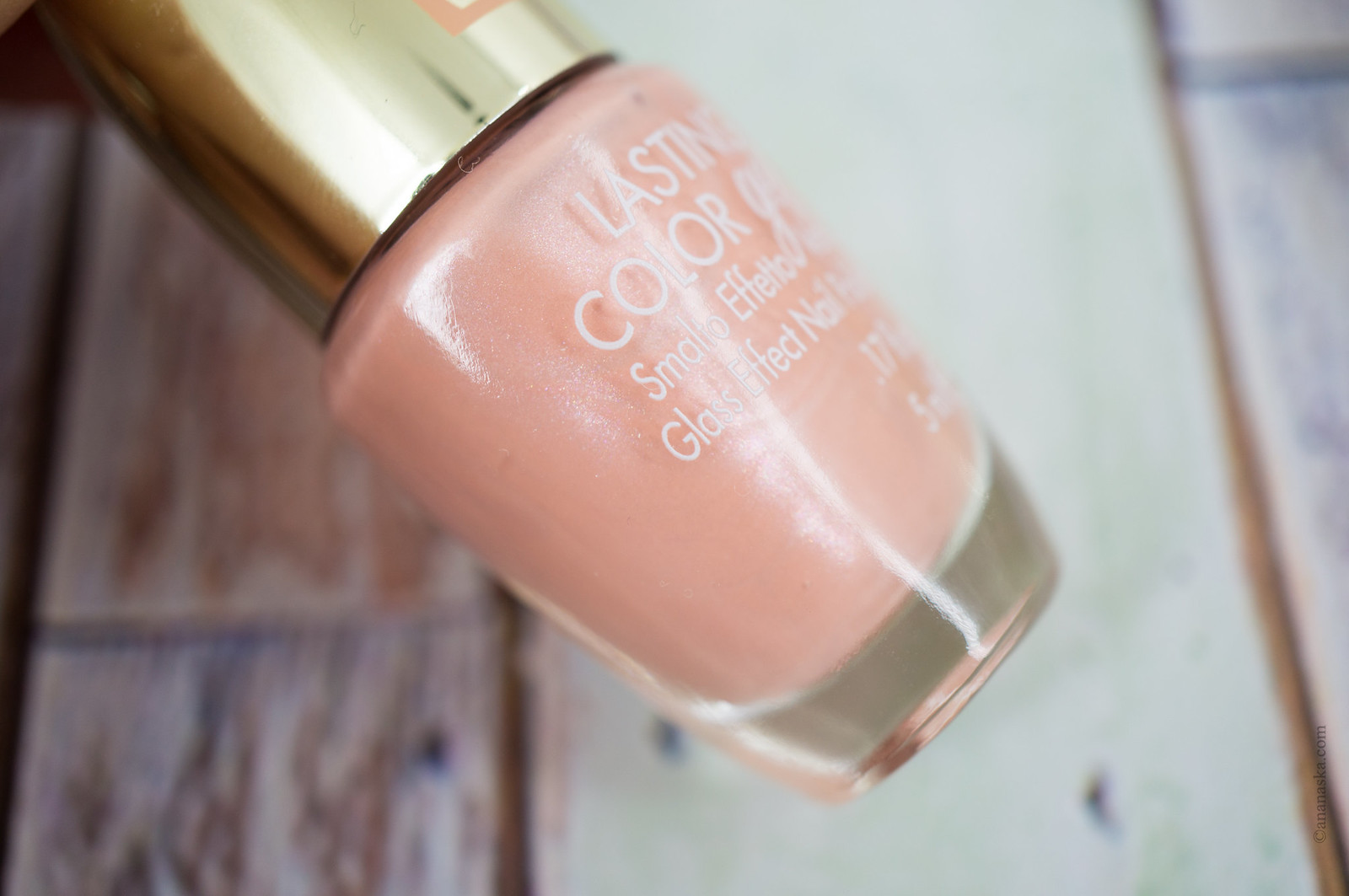 Pink Muse Lasting Color Gel 176 Apricot Pink