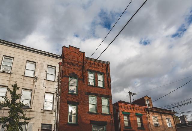 Brick Buildings - James & Tripoli, Pittsburgh