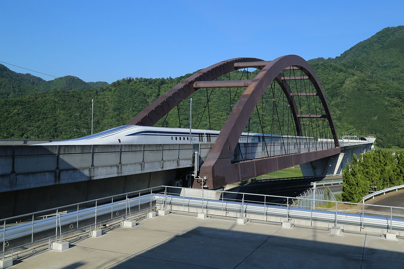 SC Maglev Test Ride