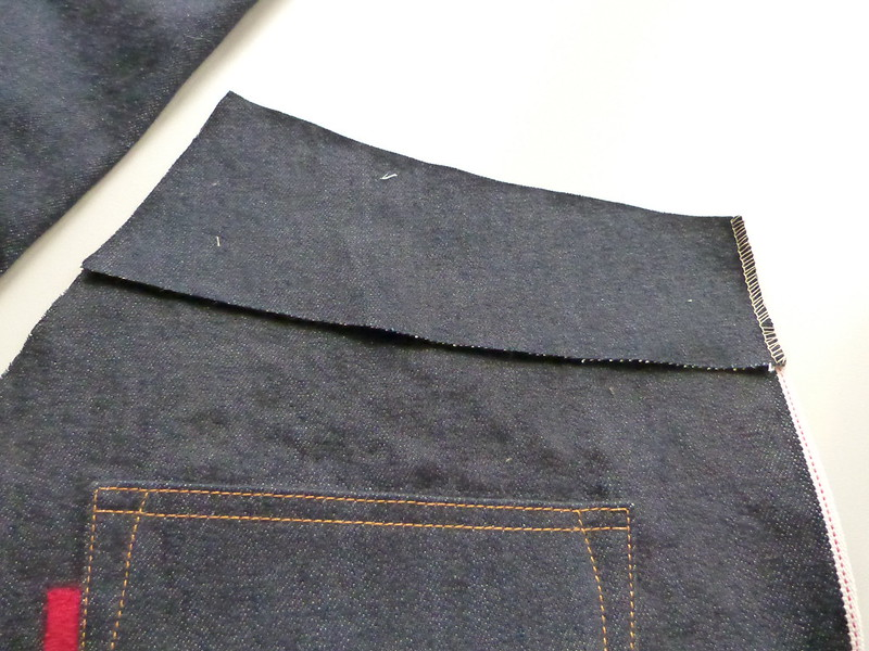 DEM JEANS Sew-A-Long: Back Pockets & Yoke