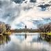HDR shoot of the Schloss Charlottenburg, Berlin with lake