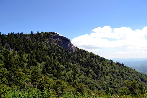 Devil's Courthouse in the Black Balsam Mountains