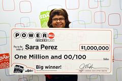 Sara Perez - $1,000,000 Powerball